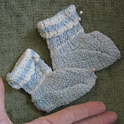 Sweet Pair of Booties for larger doll