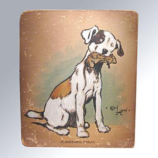 Cecil Aldin Vintage Watercolor Dog Painting ORIGINAL Art - Charles Windsor Spaniel