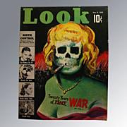 Look Magazine 1938 Vintage Periodical