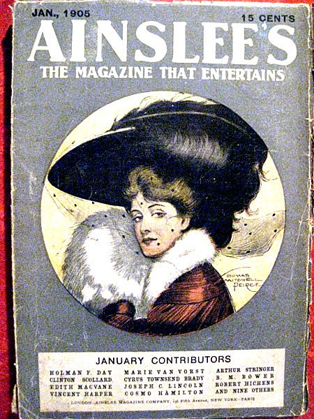 Ainslee's Vintage Magazine January 1905 with Great Advertisements