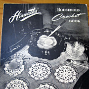 Household Crochet Book -- Hiawatha 1945