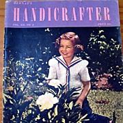 Bernat's Handicrafter - 1941 Vintage Craft Magazine