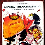 Chasing The Goblins Away - Fun Children's Book 1977