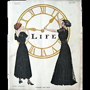 Vintage Life Magazine March 16 1911 Vol LVII No 1481