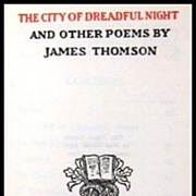 The City Of The Dreadful Night -- Limited Edition 1922