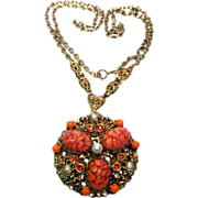 West German Necklace / Vintage Fashion Jewelry