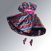 Barbie Outfit Glitter Disco Dress and Shoes 1970s
