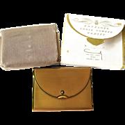 Vintage Coty Envelope Powder Compact in Original Box Unused 1950s