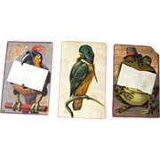 Vintage Animal Trade Cards / Advertising Trade Cards / Vintage Illustration / Ariosa Coffee