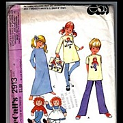 Raggedy Ann & Andy McCall's Pattern