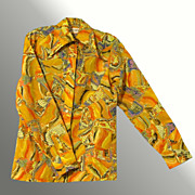 """""""You Can't Get Any More Disco Than This"""" Vintage Sportfolio Shirt"""