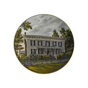 Gorham Collector Plate: Southern Landmark Series