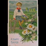 Postcard:  Easter    Circa 1908