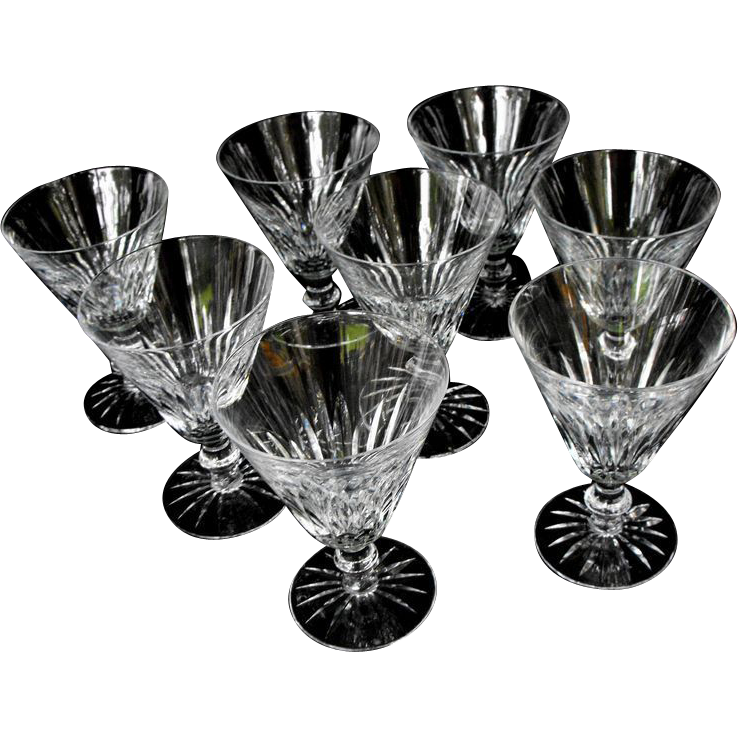 8 Waterford Water Goblets:Eileen:Circa 1968