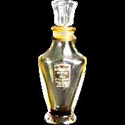Perfume Bottle D'Albret Ecusson                                            Circa: 1940s