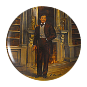 Collector Plate: Gone With The Wind:  Rhett             Circa: 1981