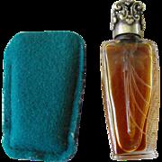 Perfume Mini Bottle (purse) French                  Circa: 1920s