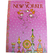 The New Yorker magazine cover: Dec.,  1979