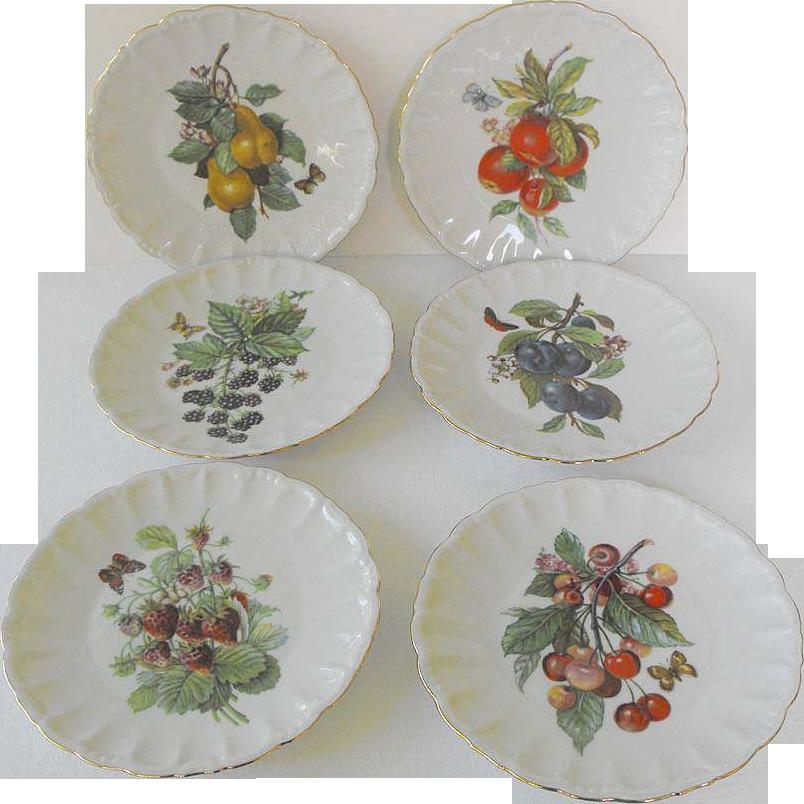 (6)Golden Crown E & R - Desert Plates