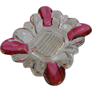 Ashtray with ruby flash