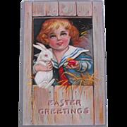 1909 Easter Postcard