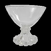 Boopie crystal sherbet stemware (8)