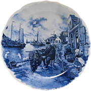 Dutch Delft collector plate