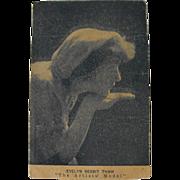 Postcard: Photo Portrait Evelyn Nesbit Thaw