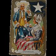 Washington Birthday Adopting the five point star
