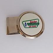 Sinclair Truflame LP-Gas Advertising Money Clip - HIT U.S.A.