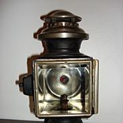Antique Carriage Oil Or Kerosene Lamp