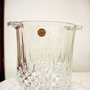 Crystal d'Arques Ice Bucket Made In France