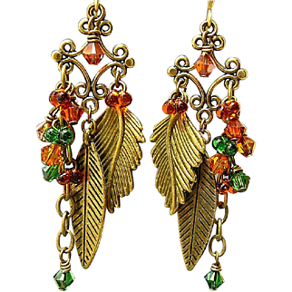 Fall Fusion - Out of My Mind Earrings