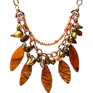 Spirited Shells - Out of My Mind Necklace