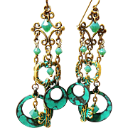 Verde Keys - Out of My Mind Earrings
