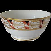 John Rose Coalport Waste Bowl, Antique English Porcelain c 1810