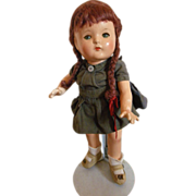 Exceptional Effanbee Patsy Jr. wigged doll