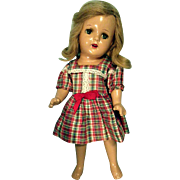 American composition girl doll marked 13