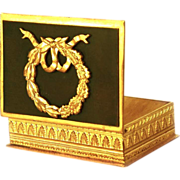 Antique Napoleon III Era Boite a Timbres or Stamp Box