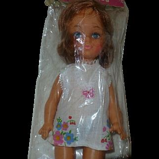 Vintage Happy Honey Doll, Rare 1960's - 70's,  Original Package, Hong Kong China
