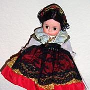Madame Alexander Sicily doll Miniature showcase