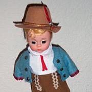 Madame Alexander Austrian Boy doll