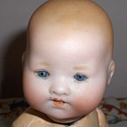 AM #351 Infant Bisque German Baby on Original Composition Body Adorable