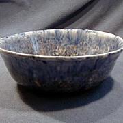 Early Blue Decorated Spongeware Bowl