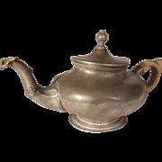 English Pewter Teapot Circa 1840