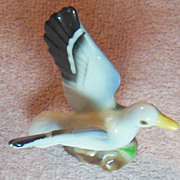 Pair of Miniature Bone China Seagulls