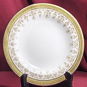 "Pretty Cauldon Tiffany & Co. 6 ¼"" Plate"