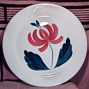 Taylor Smith Taylor Large Round 14 Inch Flower Platter