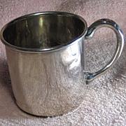 Vintage Sterling Silver Youth's Mug