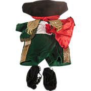 1980's Cabbage Patch World Traveler Spain Matador Outfit